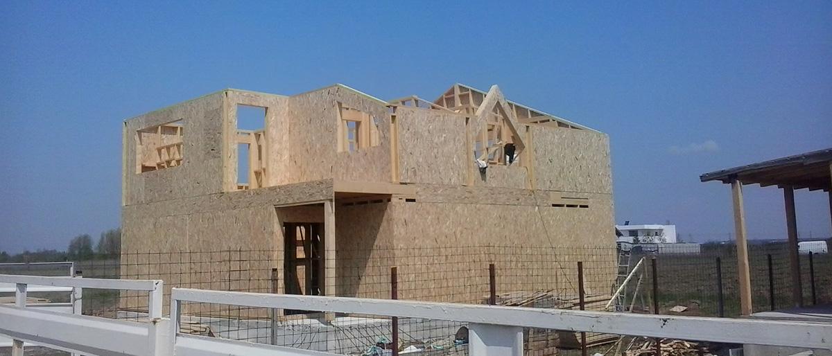 Permalink to:Casa pe structură de lemn Domnești