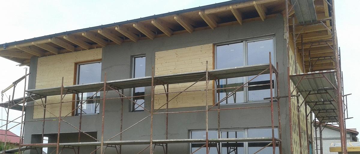 Permalink to:Casă pe structură de lemn Bragadiru